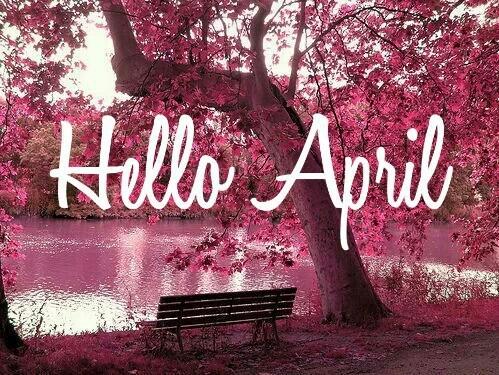 Olá abril seja muuuito bem vindo!!